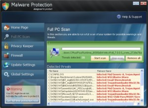 Malware Protection GUI