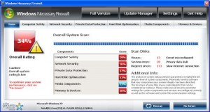 Windows Necessary FireWall GUI