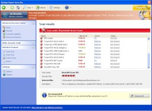 System Smart Security GUI