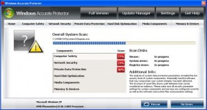 Windows Accurate Protector GUI