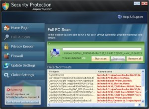 Security Protection GUI