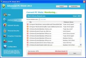 Advanced PC Shield 2012 GUI