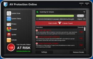 AV ProtectionOnline (FakeScanti) GUI