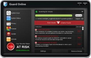 Guard Online (FakeScanti) GUI