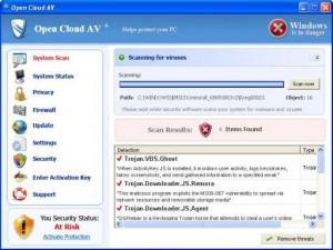 Open Cloud AV GUI