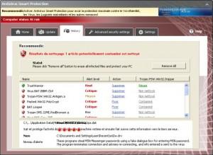 Antivirus Smart Protection (FakeVimes) GUI