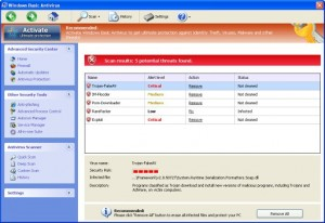 Windows Basic Antivirus GUI