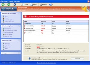 Windows Firewall Constructor GUI