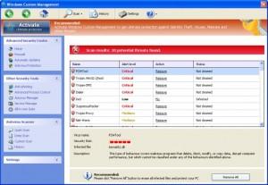 Windows Custom Managerment GUI