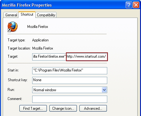 Firefox Properties