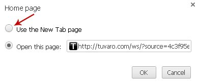 Use the New Tab page Chrome-2