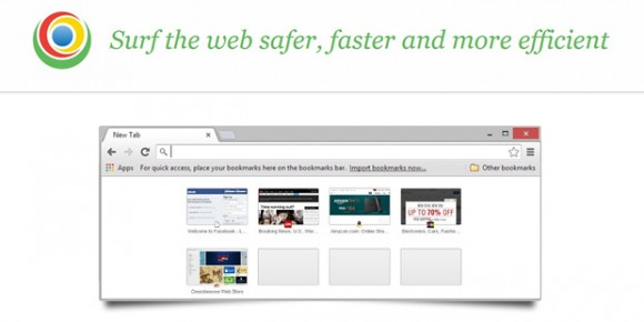 CrossBrowse copies the look and feel of a popular browser