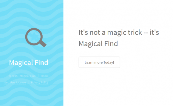 Magical Find add-on isn't what its website says it is